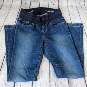 Gap Maternity 1969 Jeans, Bootcut with Demi Waist